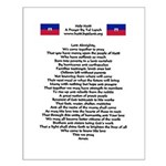 Pray For Haiti Small Poster