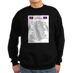 Pray For Haiti Sweatshirt (dark)