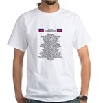 Pray For Haiti White T-Shirt