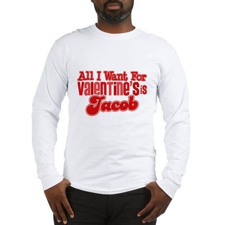 Jacob Valentine Long Sleeve T-Shirt