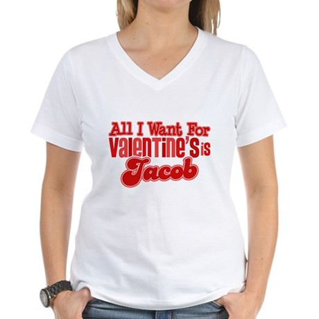 Jacob Valentine Women's V-Neck T-Shirt