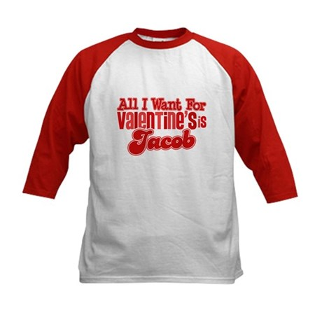 Jacob Valentine Kids Baseball Jersey