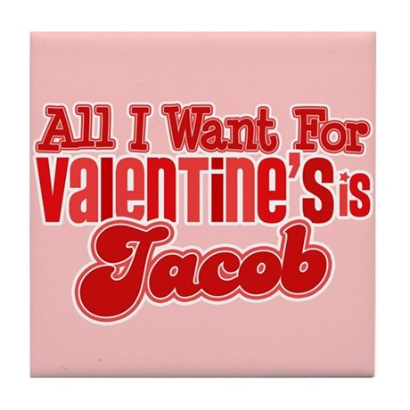 Jacob Valentine Tile Coaster