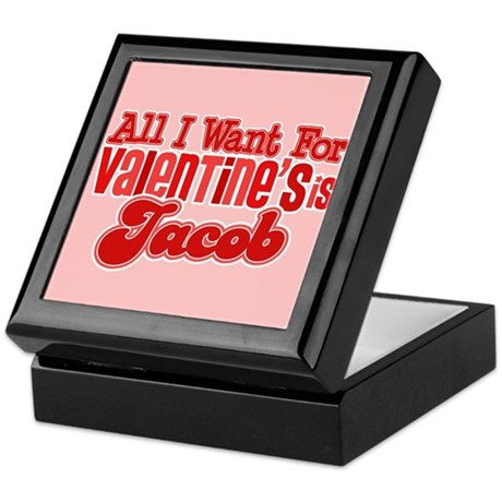 Jacob Valentine Keepsake Box