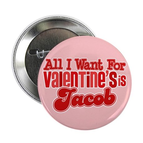 "Jacob Valentine 2.25"" Button (100 pack)"