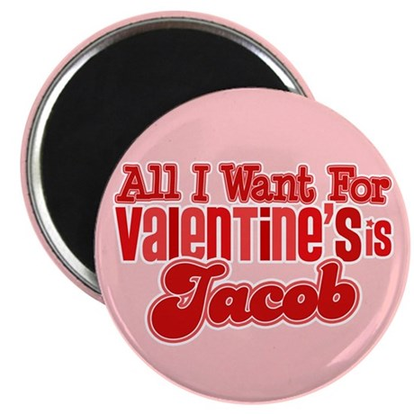 "Jacob Valentine 2.25"" Magnet (100 pack)"