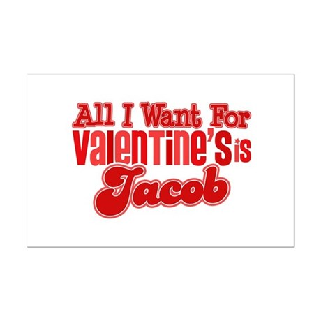 Jacob Valentine Mini Poster Print