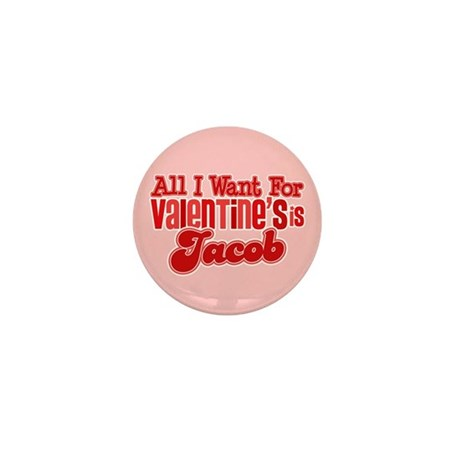 Jacob Valentine Mini Button (100 pack)