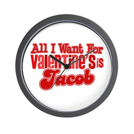Jacob Valentine Wall Clock
