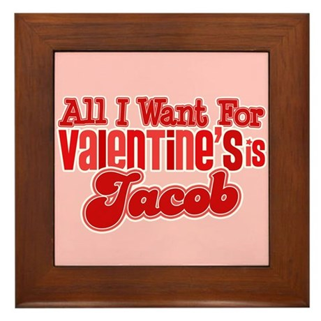 Jacob Valentine Framed Tile
