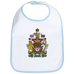 Canada Coat of Arms Bib