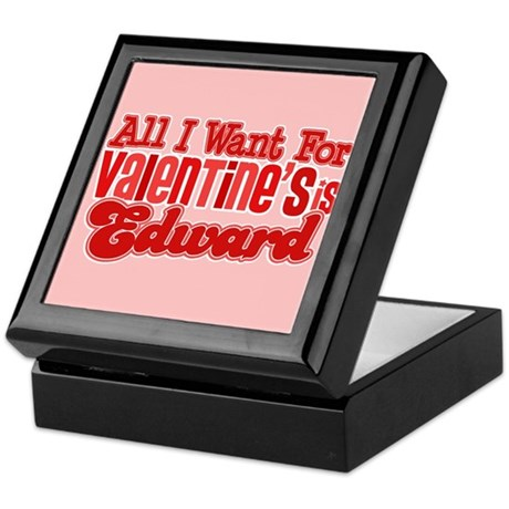 Edward Valentine Keepsake Box