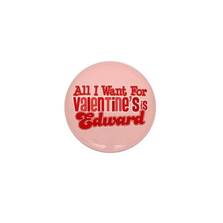 Edward Valentine Mini Button (10 pack)