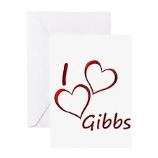 I love Gibbs Greeting Card