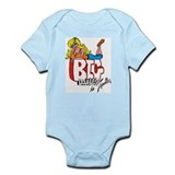 Funny Comics animation Infant Bodysuit