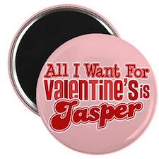 Jasper Valentine Magnet