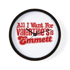 Emmett Valentine Wall Clock