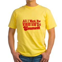 Emmett Valentine Yellow T-Shirt