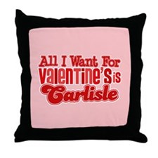 Carlisle Valentine Throw Pillow