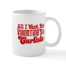 Carlisle Valentine Mug