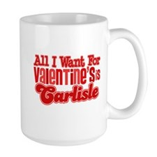 Carlisle Valentine Large Mug