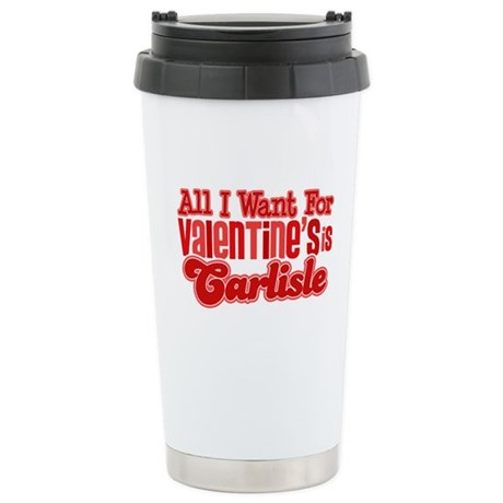 Carlisle Valentine Ceramic Travel Mug