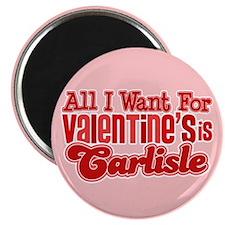 Carlisle Valentine Magnet