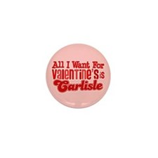 Carlisle Valentine Mini Button (10 pack)