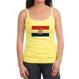 Croatian Flag Jr.Spaghetti Strap