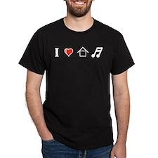 I L H M copy 2 T-Shirt