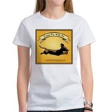 Flying Wiener Dog Tee
