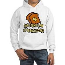 The Cosmic Law of French Toast Hoodie