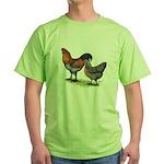 Ameraucana Poultry Green T-Shirt