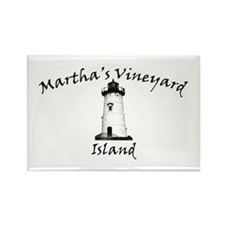 Edgartown Lighthouse Rectangle Magnet
