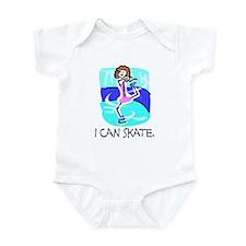 I Can Skate Infant Bodysuit