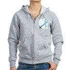 Remember 815 Women's Zip Hoodie