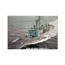 USS STARK Rectangle Magnet