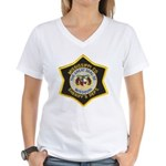 Mississippi County Missouri Women's V-Neck T-Shirt