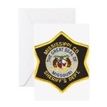 Mississippi County Missouri Greeting Card