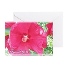 Hibiscus Thank You Card 5x7