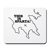 This is Sparta! Mousepad