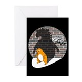 Beware of Shadow - Greeting Cards (Pk of 10)