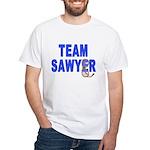 Lost TEAM SAWYER White T-Shirt