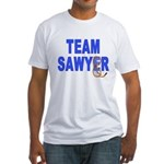 Lost TEAM SAWYER Fitted T-Shirt