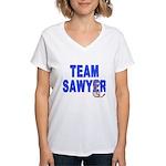 Lost TEAM SAWYER Women's V-Neck T-Shirt