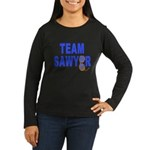 Lost TEAM SAWYER Women's Long Sleeve Dark T-Shirt