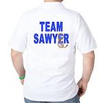 Lost TEAM SAWYER Golf Shirt