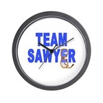 Lost TEAM SAWYER Wall Clock