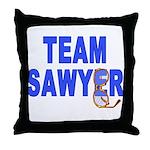Lost TEAM SAWYER Throw Pillow