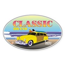 Classic Caddy Oval Decal